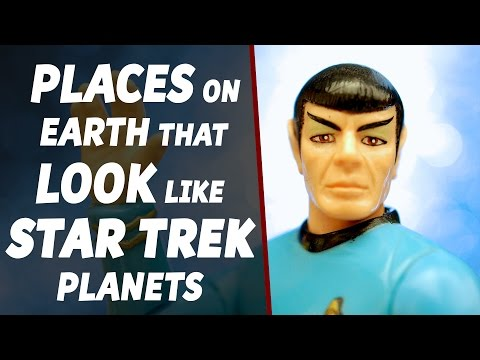 Places On Earth That Look Like Star Trek Planets