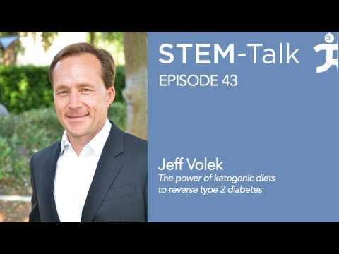 Episode 43  Jeff Volek explains the power of ketogenic diets to reverse type 2 diabetes