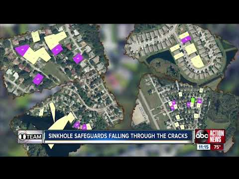 Falling through the cracks... Failed sinkhole repairs in Tampa Bay