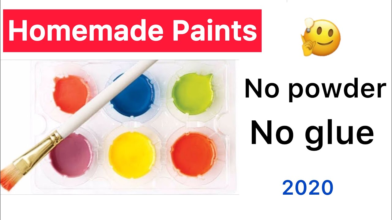 How To Make Paint At Home Without Food Coloring