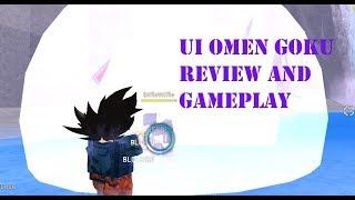 Roblox Anime Cross 2: Ui Omen Goku showcase (mild earape warning)