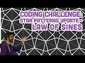 Coding Challenge #54.2: Star Patterns Up