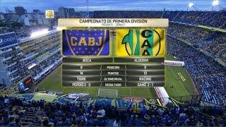 Boca Juniors vs Aldosivi full match