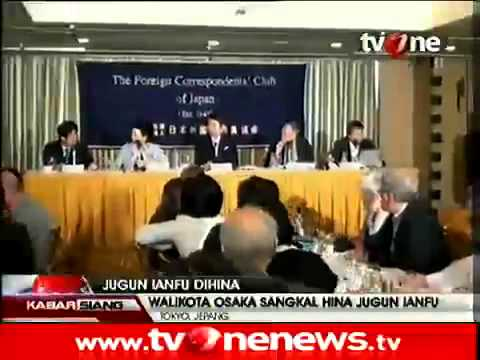 Walikota Osaka Salahkan Media Soal Jugun Ianfu