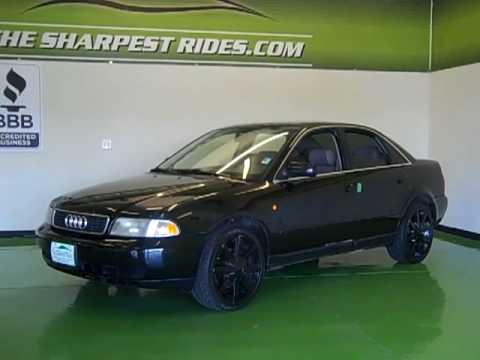 1998 Audi A4 2.8 Quattro S4593 - YouTube