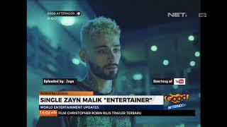 "Single Terbaru Zayn malik ""ENTERTAINER"""