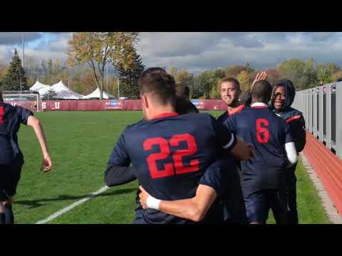 SVSU Men's Soccer vs. Tiffin Highlights