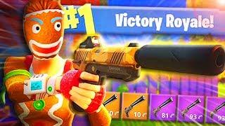 Die NEUE WAFFE ist OP! | Fortnite Battle Royale - (Pistol Only Challenge)