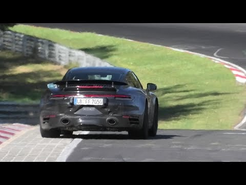 2020 PORSCHE 992 TURBO (580HP) & 992 Turbo S (620HP) SPIED TESTING AT THE NÜRBURGRING!