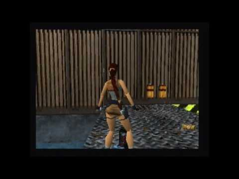 "Tomb Raider 2 Walkthrough ""Offshore rig"" PlayStation Footage"