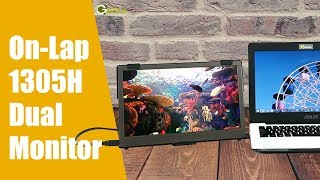 GeChic How to Set Up a Dual Monitor by 1305H 13.3-inch Portable Monitor