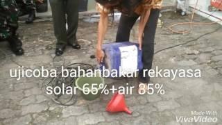 demo solar 65%+air 35%, kerjasama KOREM 044-GIN-PT SPOI