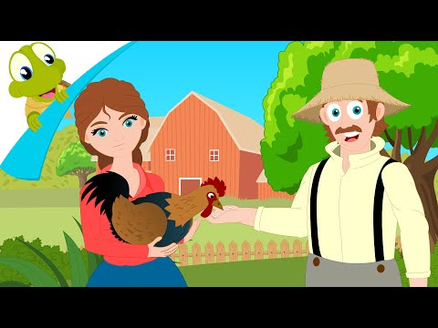 I had a little rooster nursery rhyme - Barnyard Song