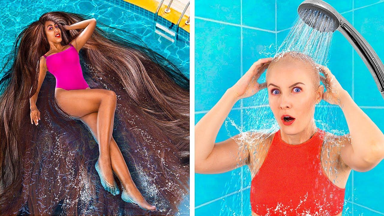 Проблемы тонких и густых волос/ Забавные и неловкие моменты