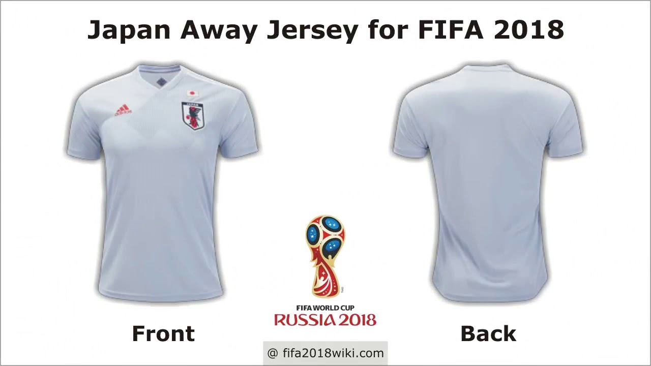 quality design ca7df 0f8f5 Japan Jersey for FIFA 2018 Football World Cup - YouTube