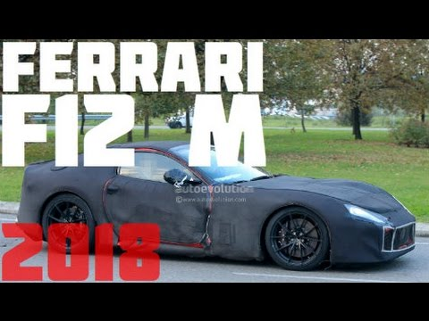 2018 ferrari berlinetta. plain 2018 2018 ferrari f12 m spied on the road but is still covered in heavy  camouflage  youtube on ferrari berlinetta i