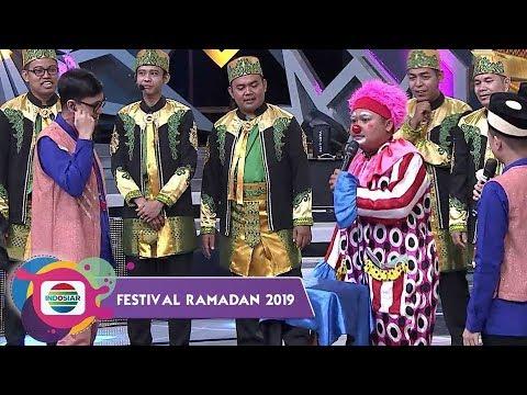 KERENNN!! Personel Salten Family Jadi Badut Bikin Soimah Keluarin Uang - Festival Ramadan 2019