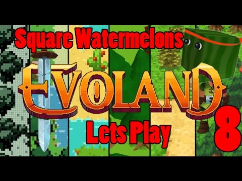 Lets Play Evoland Part 8, The Square Water Melons