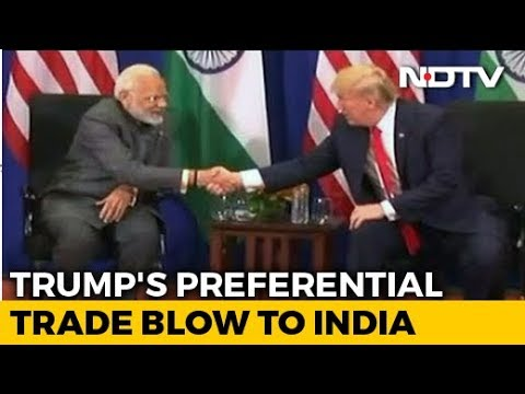 Donald Trump Says He Plans To End Preferential Trade Treatment To India