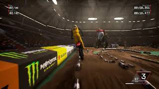 Supercross The Game vs MXGP3  Comparison Gameplay Video