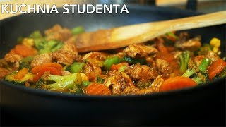 Najlepsze danie z patelni za 4,50ZŁ?| Kuchnia Studenta #27