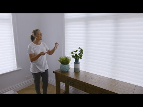 The Home Team Talks Shades: the Luxaflex Silhouette® Shadings Transformation