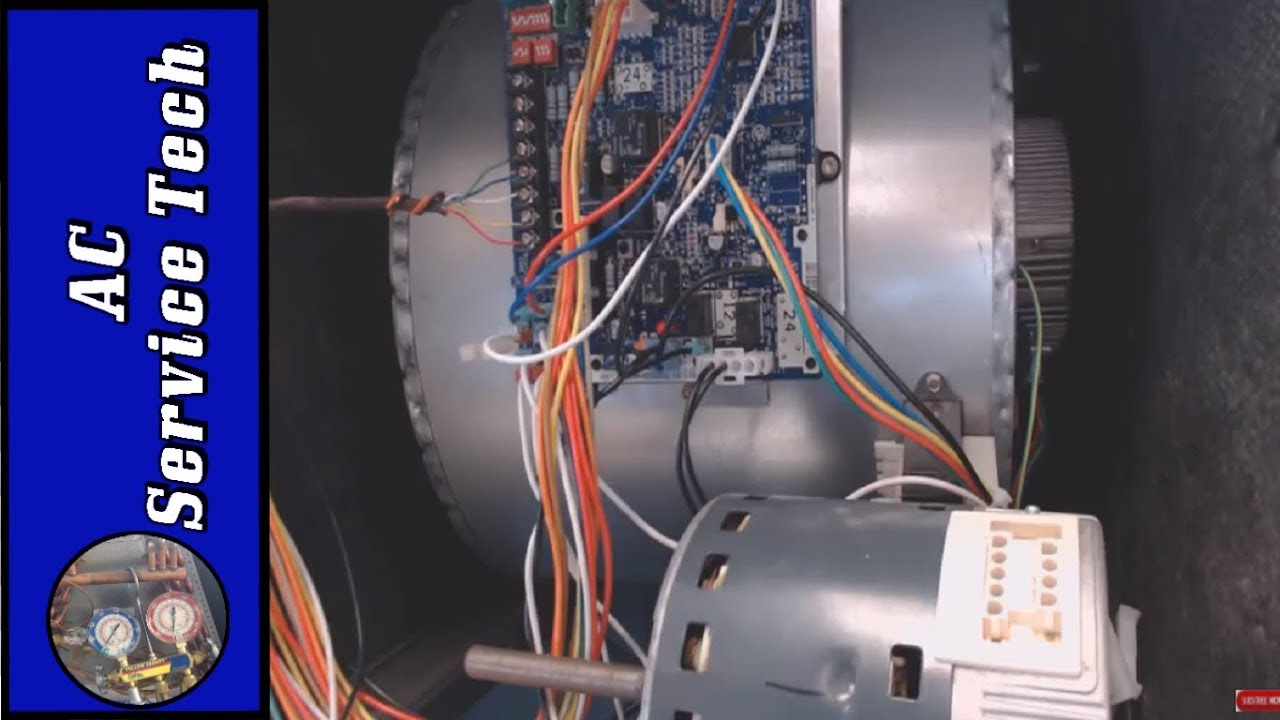 Hvac Ecm Variable Speed Blower Motor Troubleshooting Simple Testing Ac Wiring
