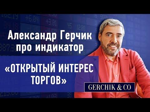 🎯 Открытый интерес торгов. Александр Герчик про индикатор для торговли.