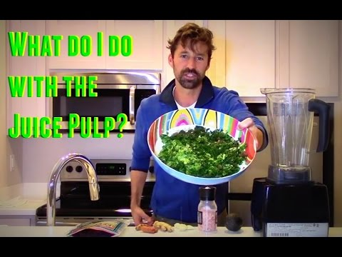 Download JUICE PULP RECIPE ~ WHAT DO I DO WITH THE PULP AFTER JUICING? Snapshots
