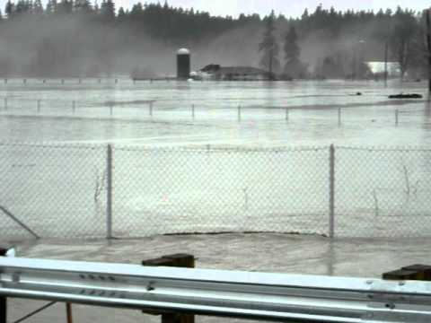 100 Year Flood Video 2009 Arlington Washington.AVI