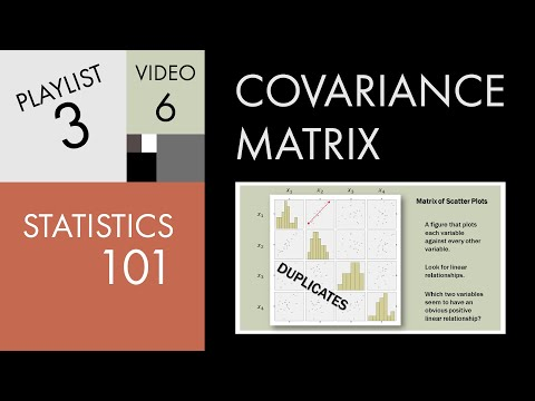 Statistics 101: The Covariance Matrix