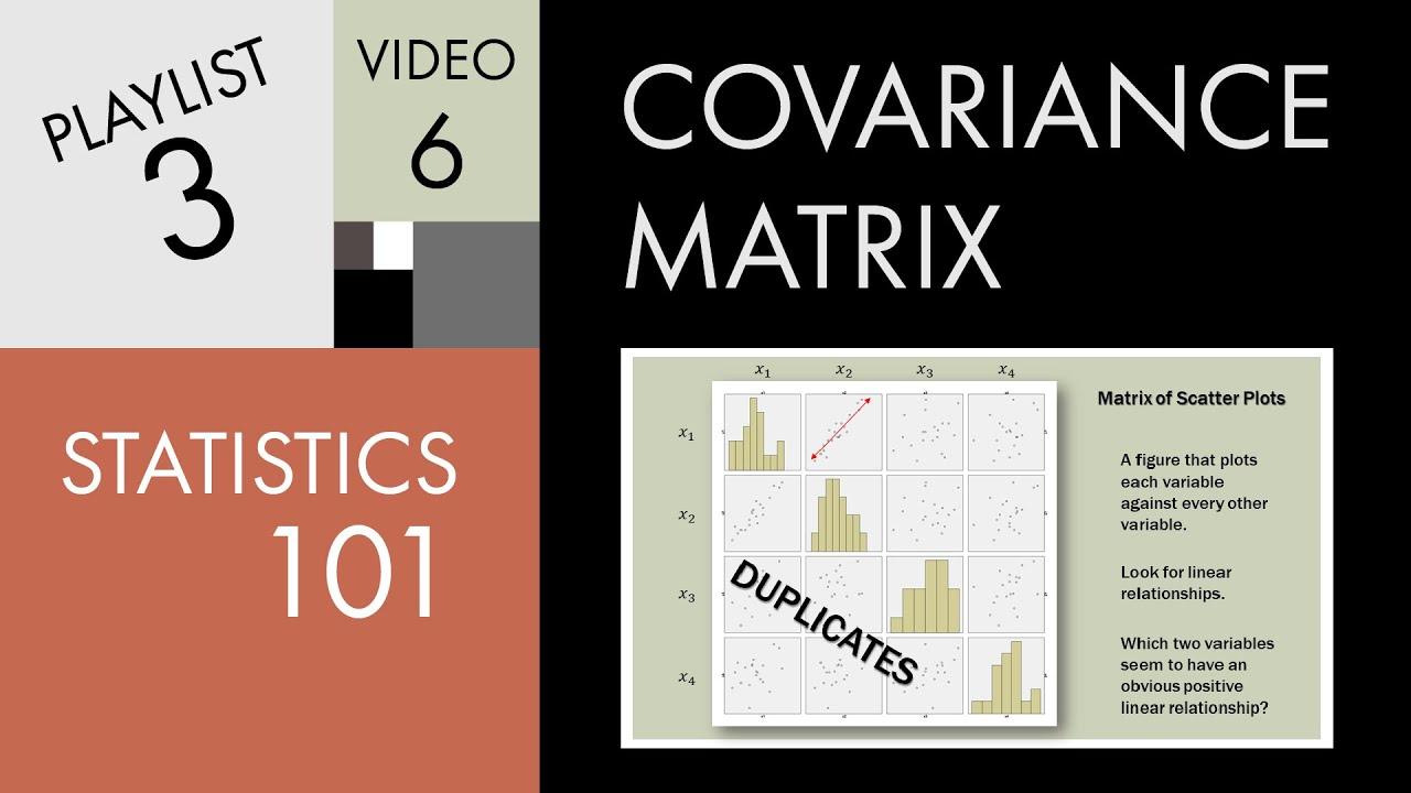 Risk (part 3) variance & covariance matrix – varsity by zerodha.