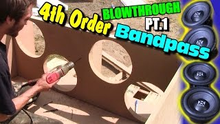 Building 4th Order Bandpass w/ 12