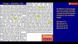 FULL TOEFL ITP/PBT Reading Test 36 with Answer Key