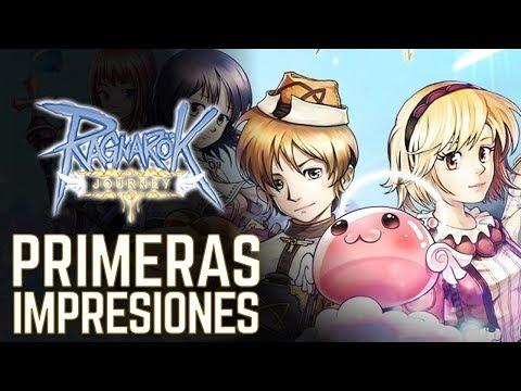 Ragnarok Journey MMORPG WEB – Primeras impresiones – Gameplay en español