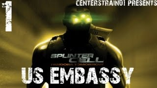 Splinter Cell - Pandora Tomorrow - Stealth Walkthrough Part 1 - US Embassy