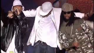 Here is a rare live performance of usher performing yeah featuring lil jon and ludacris from his 2004 grammy award-winning album confessions with dancers inc...