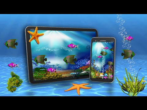Аквариум 3D Pro. Морской аквариум на вашем смартфоне. #android