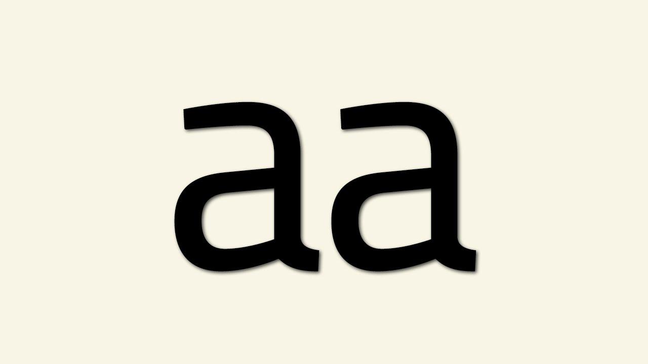 aa - YouTube