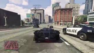 Best police chase on GTA 5 Online (PS4)