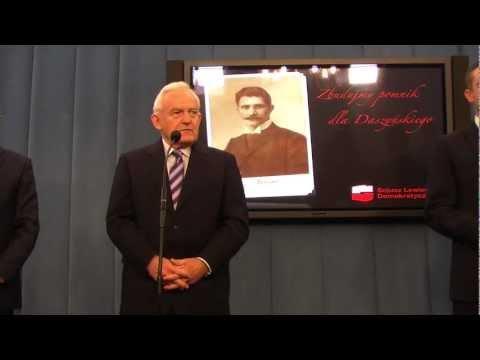 TVSLD (konferencja) :. SLD chce pomnika Ignacego Daszyńskiego w Warszawie.