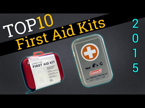 Top 10 First Aid Kits 2015 | Compare Best First Aid Kits