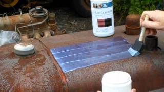 Applying Rust Converter to a Farmall Tractor