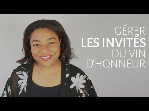 Gérer les invités du vin d'honneur [Dentelle TV #21]