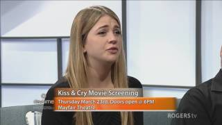Actress Sarah Fisher explains the inspiration behind her new movie Kiss and Cry
