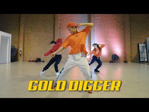 Kanye West - Gold Digger Ft. Jamie Foxx | JEFFERY HU CHOREOGRAPHY