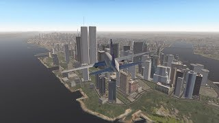 9/11 - The South Tower Strike - United Airlines Flight 175 - XP11