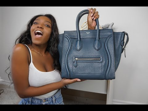 Celine Mini Luggage Review + Unboxing ♡