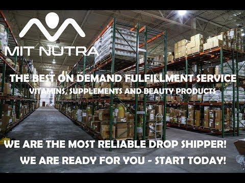 On Demand Fulfillment Supplements, Vitamins & Beauty