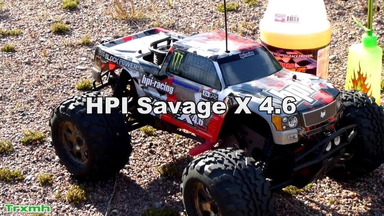hpi savage x 4 6 autumn nitro bashing youtube. Black Bedroom Furniture Sets. Home Design Ideas